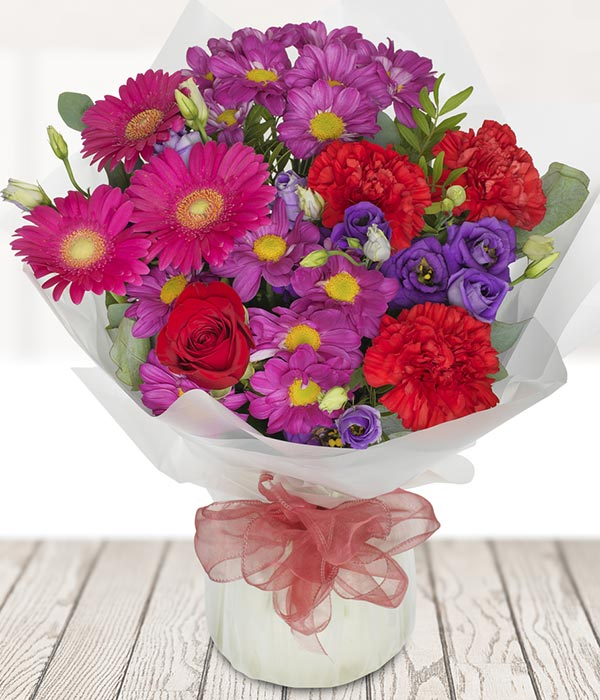 Blush Arrangement for your anniversary gift from Every Bloomin Thing Glasgow