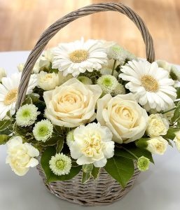 Memories Flower Basket from Every Bloomin Thing Flowers Glasgow