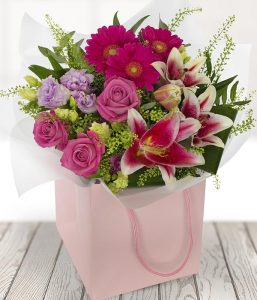 Pleasant Pinks flowers from Every Bloomin Thing Flowers Glasgow