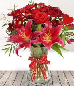 Romantic Bouquet from Every Bloomin Thing Flowers Glasgow