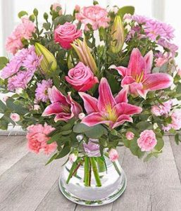 Royal Blush flowers from Every Bloomin Thing Flowers Glasgow