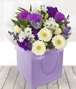 Vintage Purples flowers from Every Bloomin Thing Flowers Glasgow